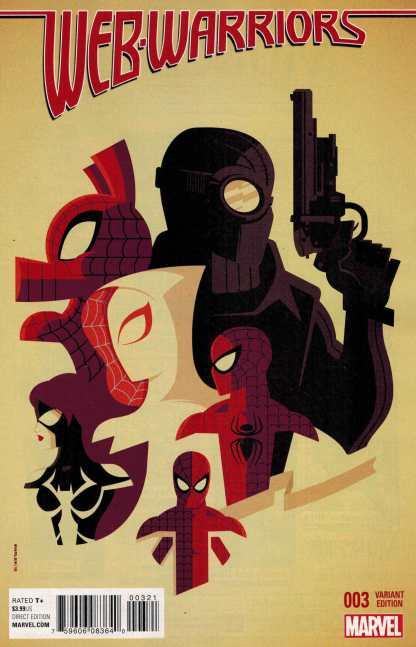 Web Warriors #3 1:25 Whalen Variant ANAD Marvel 2015 Spider-Man Ham