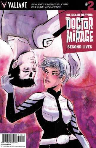 Doctor Mirage Second Lives #2 1:20 Lennox Variant Valiant 2015 Dr