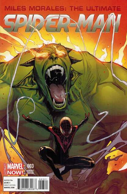 Miles Morales the Ultimate Spider-Man #3 1:25 Variant