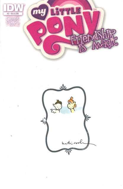 My Little Pony Friendship is Magic #2 1:50 Katie Cook Original Art Variant FN