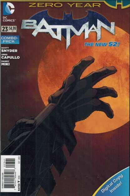 Batman #23 Combo Pack Variant Sealed New 52 Scott Snyder Zero Year