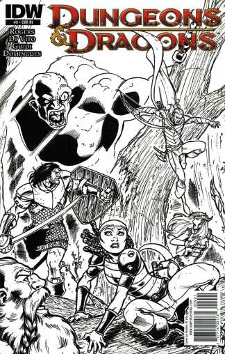 Dungeons and Dragons #9 1:10 Retailer Incentive Variant RI IDW