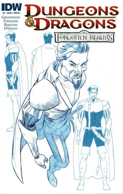 Dungeons and Dragons Forgotten Realms #4 1:10 Retailer Incentive Variant RI