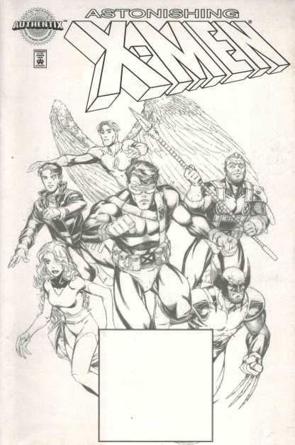 Marvel Authentix Astonishing X-Men #1 Dynamic Forces w/ COA