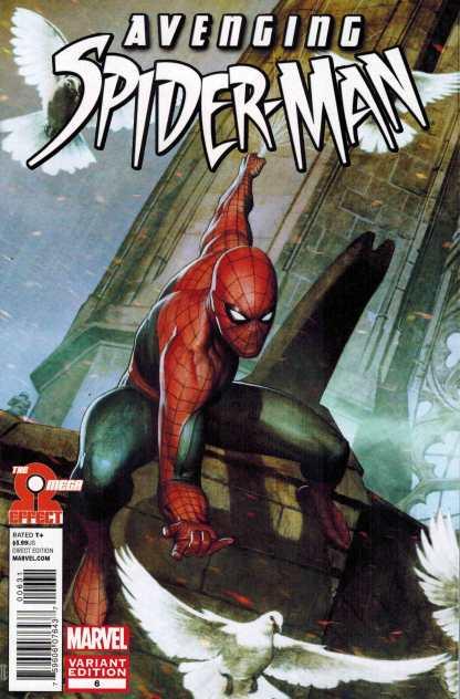 Avenging Spider-Man #6 Adi Granov Variant