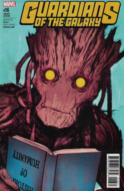 Guardians of the Galaxy #16 1:25 Tula Lotay Groot Variant NOW Marvel 2015