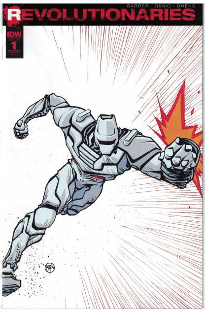 Revolutionaries #1 1:50 Paul Pope Incentive Variant RI IDW 2017 Rom Space Knight