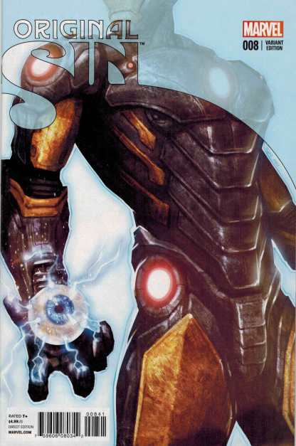 Original Sin #8 1:10 Jeun-Siik Ahn Iron Man Teaser Variant Marvel 2014