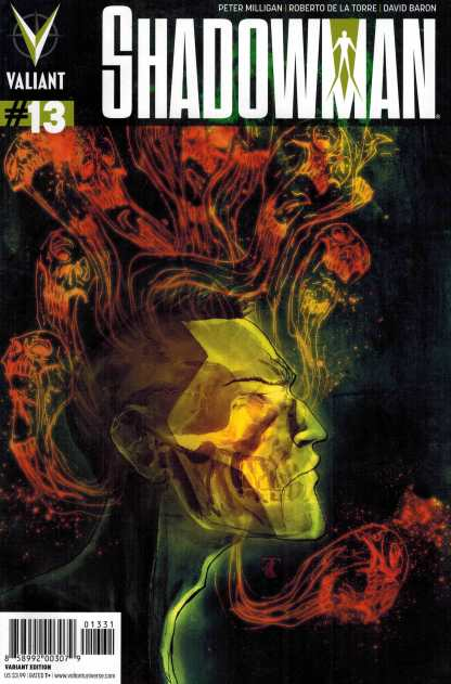 Shadowman #13 1:20 Ben Templesmith Variant Valiant