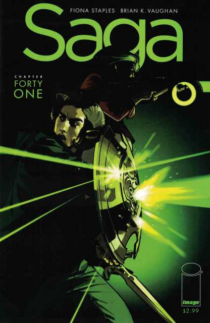 Saga #41 First Print Misprint Error Cover Recalled Image Comics 2016