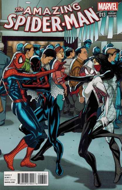 Amazing Spider-Man #13 1:20 Larroca Star Wars Welcome Home Variant 2014 Gwen