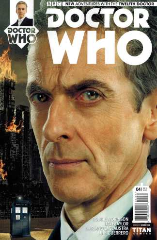 Doctor Who 12th Doctor #4 1:10 Retailer Incentive Photo Variant Cover C Titan