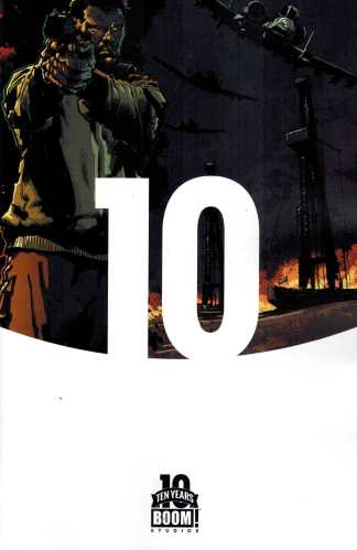 Burning Fields #1 1:10 Ten Years of Boom! Variant