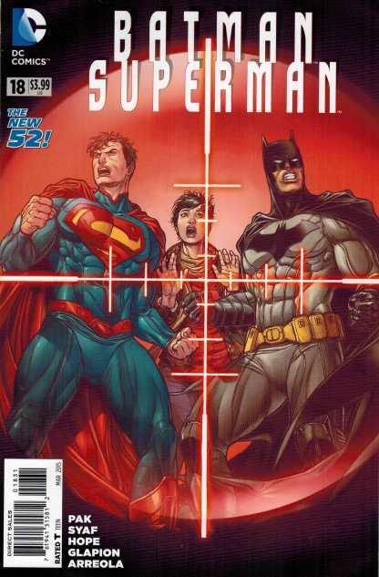 Batman Superman #18 1:25 Juanjo Variant New 52