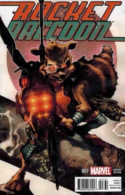 Rocket Raccoon #7 1:25 Simone Bianchi Variant 2014