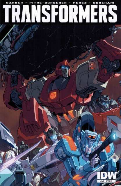 Transformers #49 1:10 Retailer Incentive Variant RI IDW Ongoing