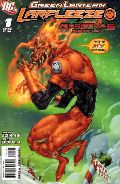 Green Lantern Larfleeze Christmas Special #1 Variant DC Comics 2011