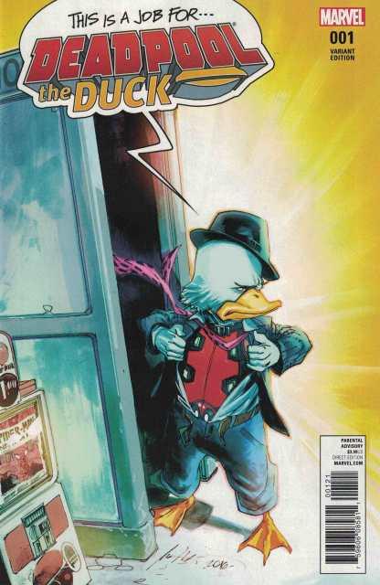 Deadpool the Duck #1 1:25 Rafael Albuquerque Variant NOW Marvel 2017