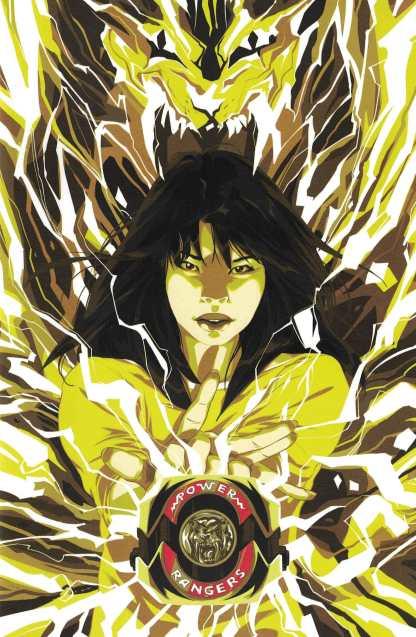 Mighty Morphin Power Rangers #11 1:25 Montes Yellow Ranger Variant Boom 2016