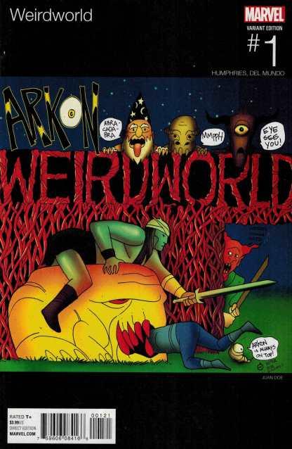 Weirdworld #1 Juan Doe Hip Hop Variant Snoop Dogg Homage Marvel ANAD 2015