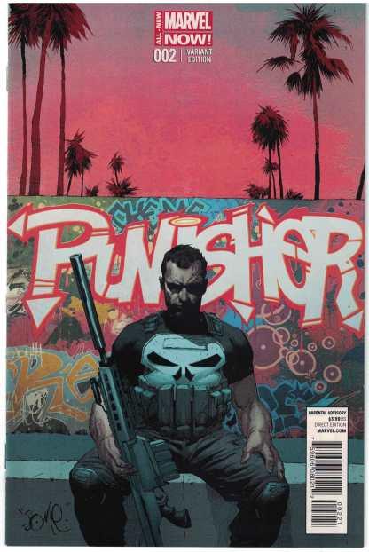 Punisher #2 1:50 Jerome Opena Variant ANMN 2014 RARE HTF