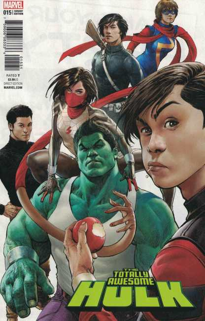 Totally Awesome Hulk #15 1:25 Singh Variant ANAD Marvel 2015
