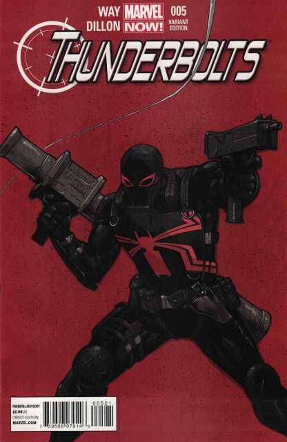 Thunderbolts #5 1:50 Billy Tan Variant Marvel NOW 2012 Agent Venom HTF VF/NM-