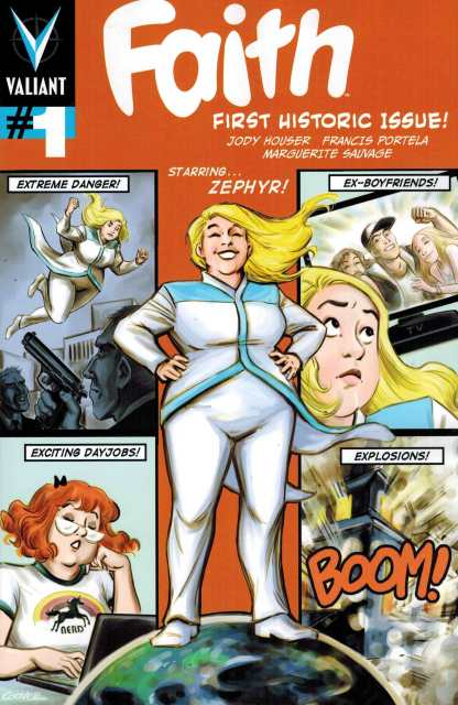 Faith #1 1:20 Colleen Coover Variant Cover F Valiant Comics 2016
