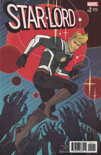 Star-Lord #2 1:25 Marguerite Sauvage Variant NOW Marvel 2017 Guardians