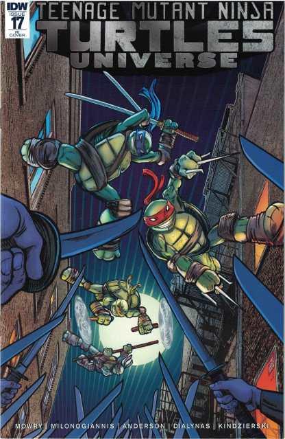 TMNT Universe #17 1:10 Tony Shasteen Variant IDW 2016