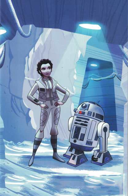 Star Wars Forces of Destiny Leia #1 1:10 Elsa Charretier Animation Cell Variant