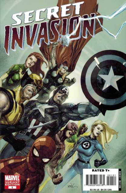 Secret Invasion #1 Lenil Francis Yu Variant Marvel