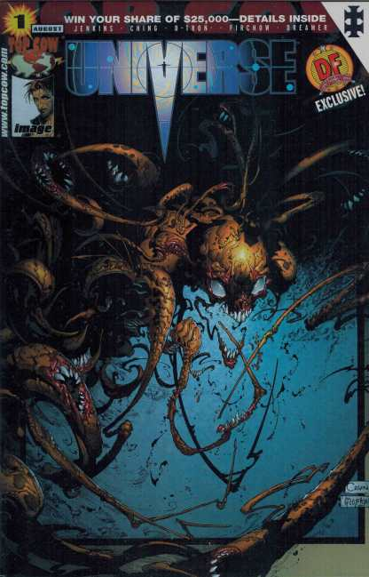 Universe #1 Dynamic Forces Exclusive Chrome Edition Image Top Cow