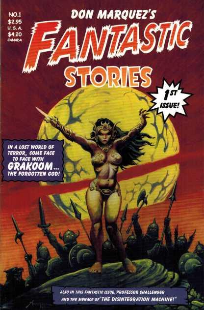 Fantastic Stories #1 Cover B Don Marquez 2001 HTF