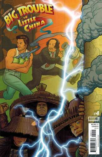 Big Trouble in Little China #4 1:10 Retailer Incentive Variant Cover B