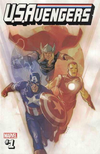 US Avengers #1 Phil Noto Secret Variant 1:53 NOW Marvel 2017