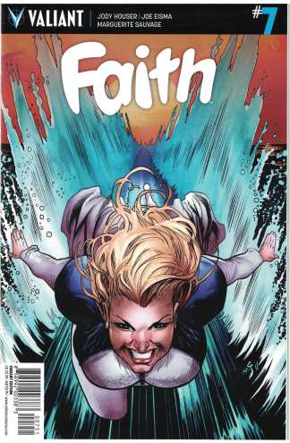 Faith Ongoing #7 1:20 Shaw Variant Cover E Valiant 2016 VF/NM