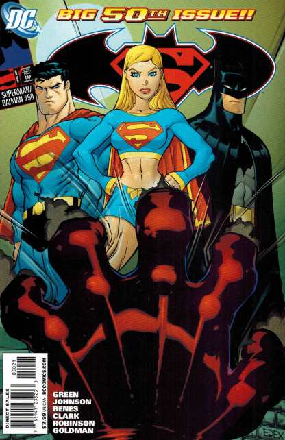 Superman Batman #50 Ed McGuinness Variant DC 2003 Supergirl