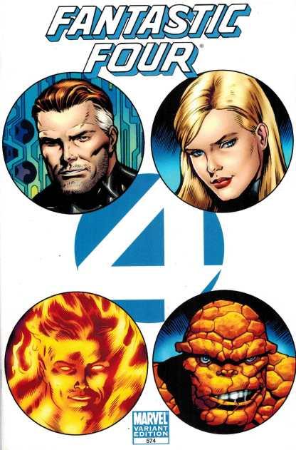 Fantastic Four #574 1:44 Dale Eaglesham Variant Marvel HTF Rare!