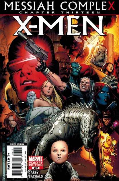 X-Men #207 1:10 Jim Cheung Variant Marvel Messiah Complex