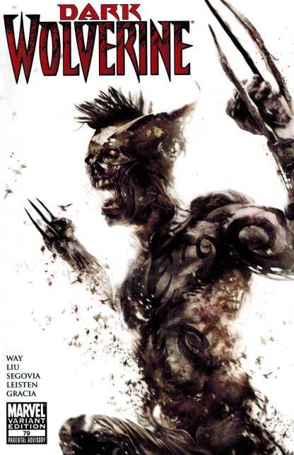 Dark Wolverine #79 Mattina Zombie Variant Marvel 2099 Daken