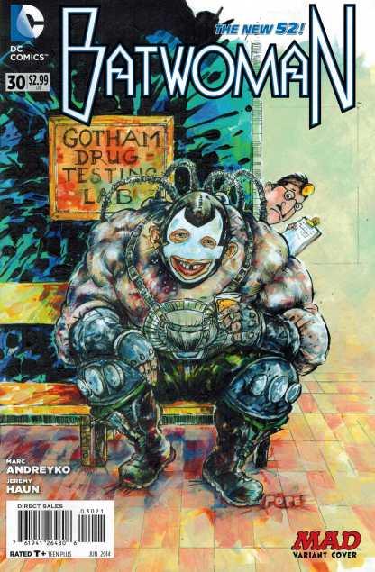 Batwoman #30 1:25 Mad Magazine Variant Rare HTF