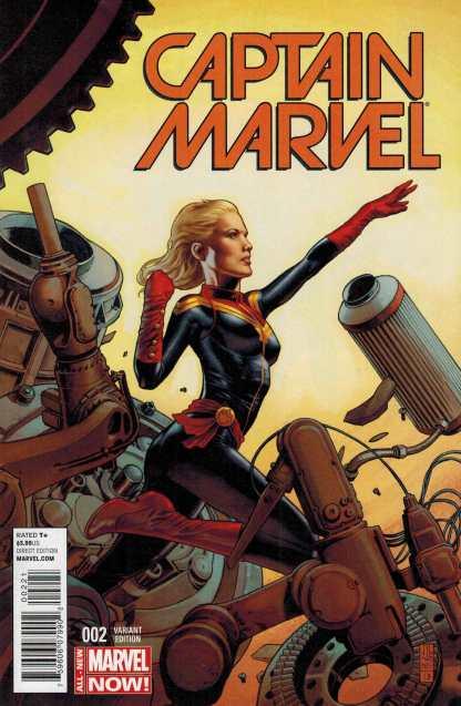 Captain Marvel #2 1:50 JG Jones Variant J.G. 2014 All New Marvel Now ANMN