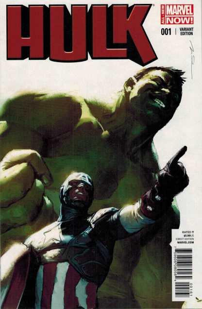 Hulk #1 1:20 Gerald Parel Variant ANMN All New Marvel Now 2014