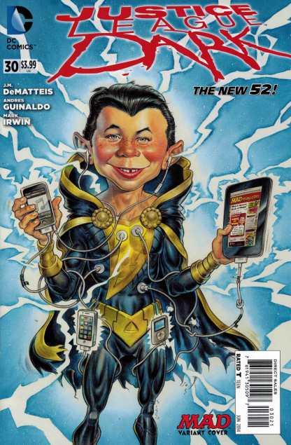 Justice League Dark #30 1:25 Sam Cisco Mad Variant New 52