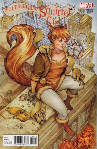 Unbeatable Squirrel Girl #1 1:20 Siya Oum Variant Marvel 2015