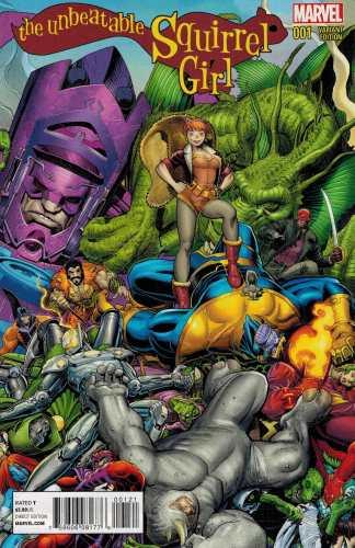 Unbeatable Squirrel Girl #1 1:25 Art Adams Variant Marvel 2014 Henderson North