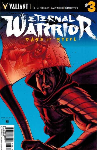 Eternal Warrior Days of Steel #3 1:20 Barrionovio Variant Valiant
