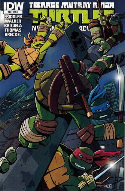 Teenage Mutant Ninja Turtles New Animated Adventures #10 1:10 Variant RI