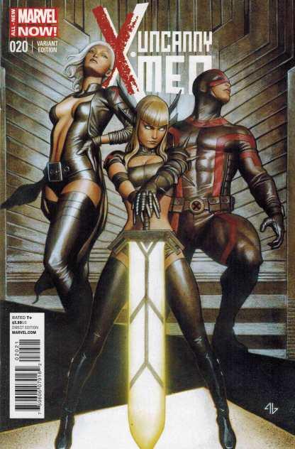 Uncanny X-Men #20 1:50 Adi Granov Variant